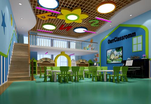 幼儿园教室装修效果图大全